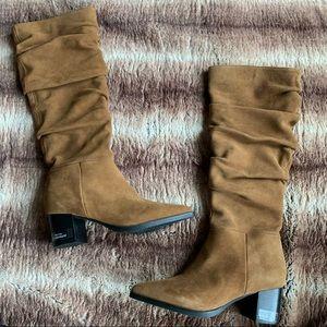 Blondo Tallis Slouch Suede Waterproof Boot